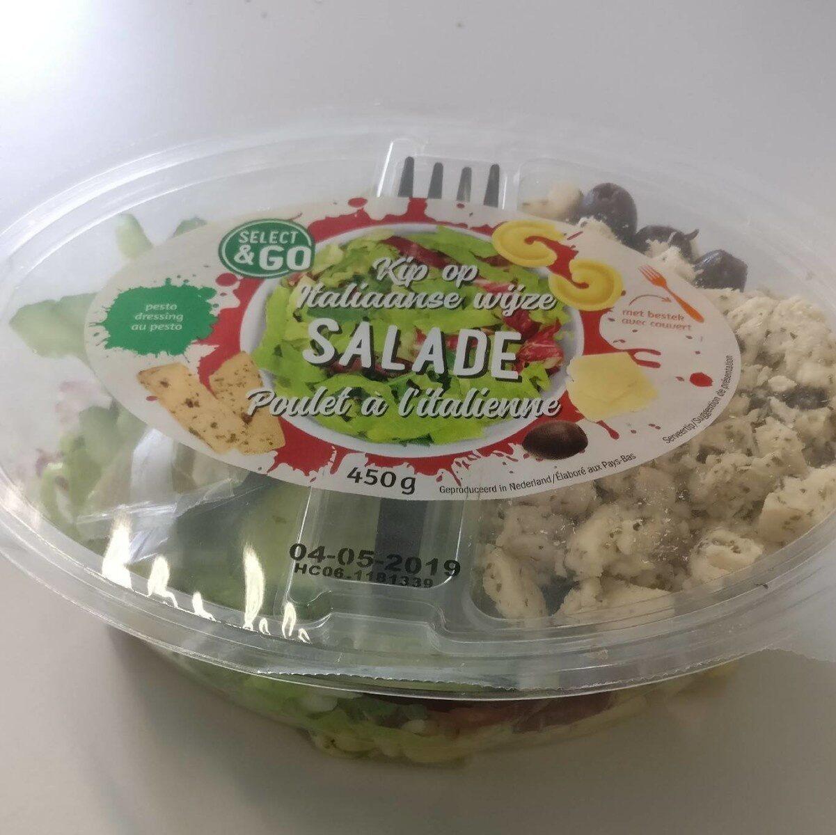 Salade poulet à l'italienne - Produit - fr