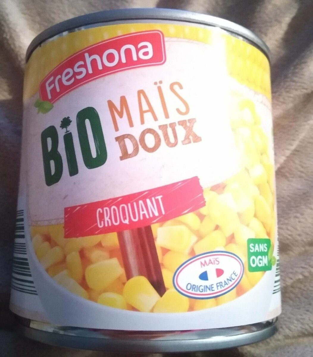 Maïs bio croquant - Produit - fr
