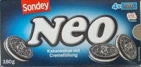 Kakaokekse mit Cremefüllung - Produkt - de