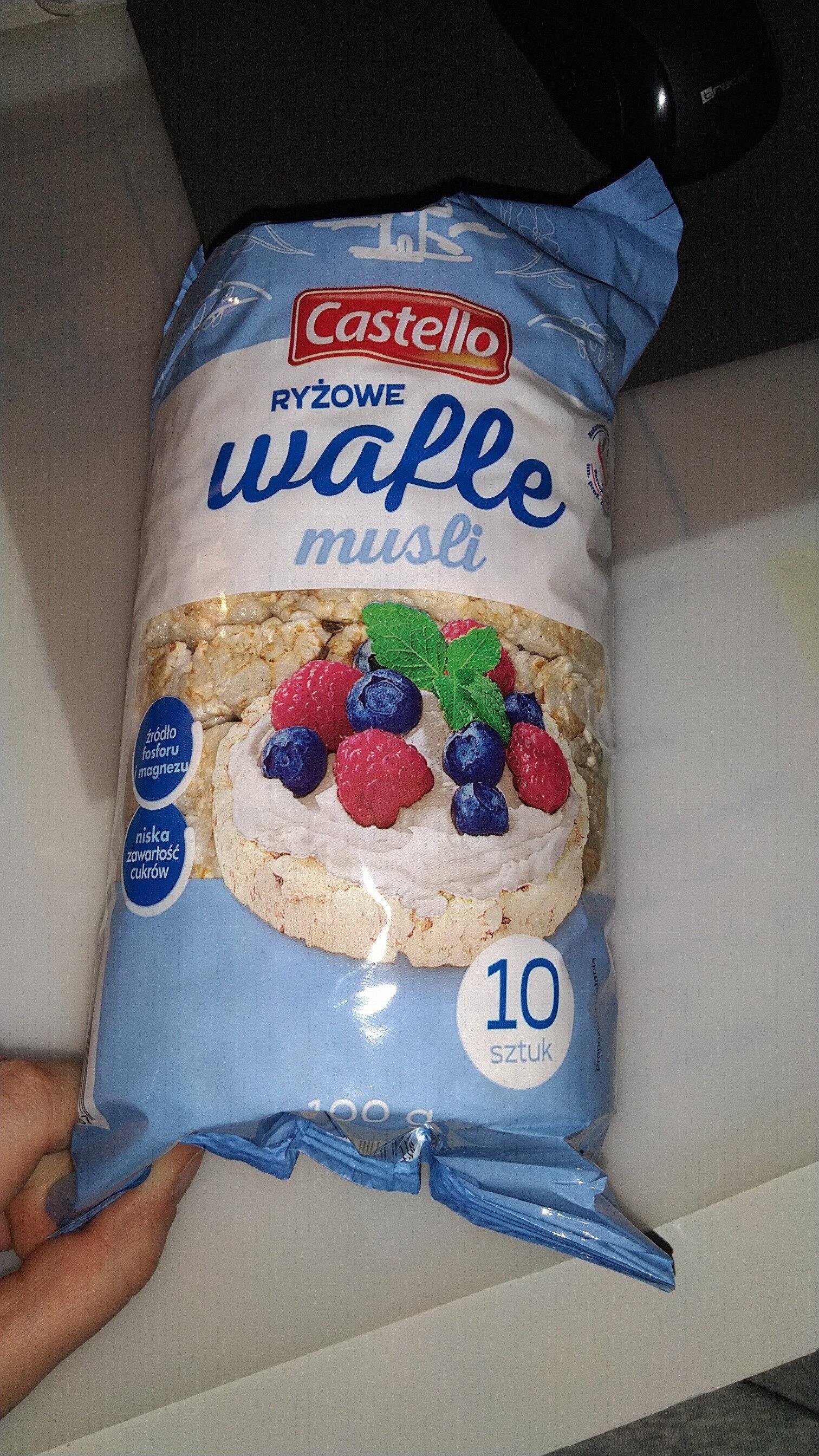 Wafle ryżowe musli - Produkt - pl