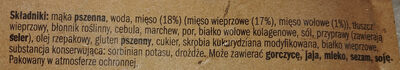 Pierogi z mięsem - Składniki - pl