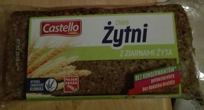 Chleb żytni z pełnego ziarna żyta, razowy - Produkt - pl