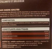 Orlando petits biscuits pour chiots - Ingrediënten - fr