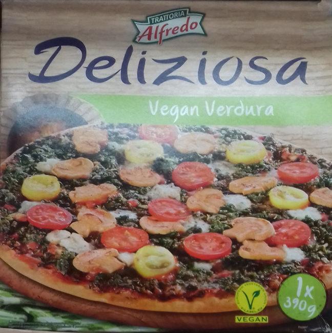 Pizza Deliziosa vegan verdura - Producto - es
