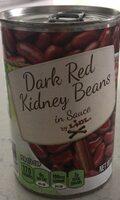 Dark red kidney beans - Product - en