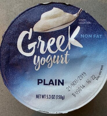 Greek yogurt - Product - en