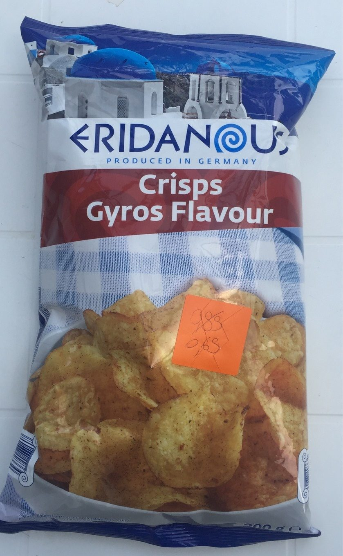 Crisps Gyros Flavour - Product - fr