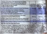 Crisps Gyros Flavour - Nutrition facts - fr