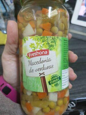 Macedonia de verduras - Producto