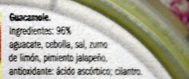 Guacamole - Ingredients
