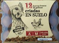12 Huevos criadas en suelo - Producto - es