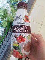 Gazpacho fresa y grosella - Producto