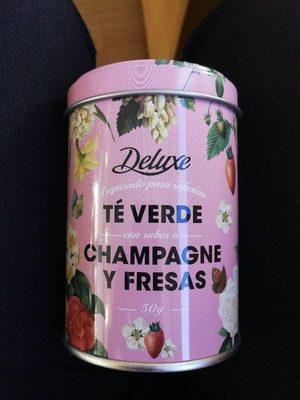 Te verde  con champagne - Producto