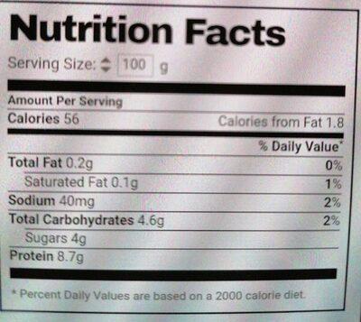 Milbona Skyr Nur 0.2% Fett - Valori nutrizionali - fr