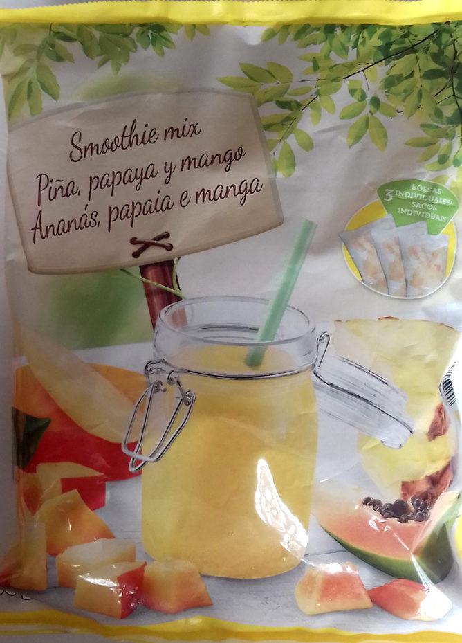 Smoothie Mix - Piña, papaya y mango - Product