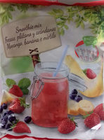 Smoothie mix Fresas, plátano y arándanos - Producte