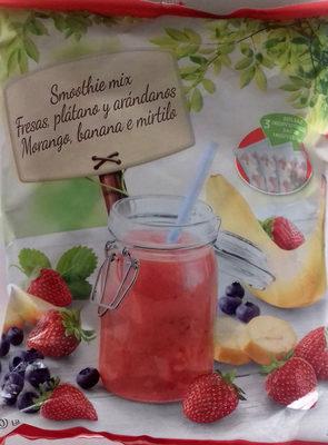 Smoothie mix Fresas, plátano y arándanos - Producto