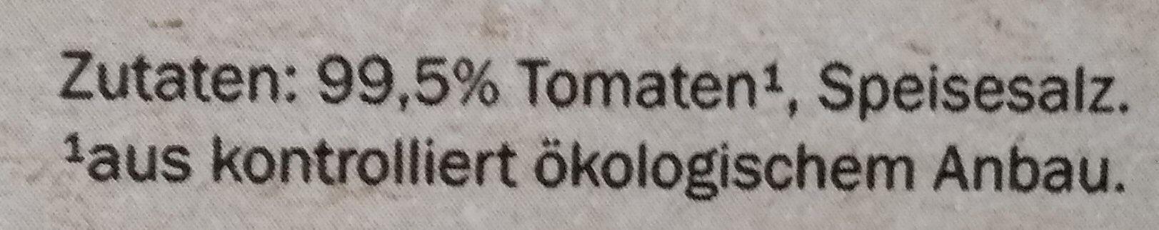 Tomaten - passiert - Zutaten - de