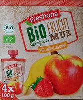 Bio Fruct mus Apfel, Erbeere und Banane - Produit