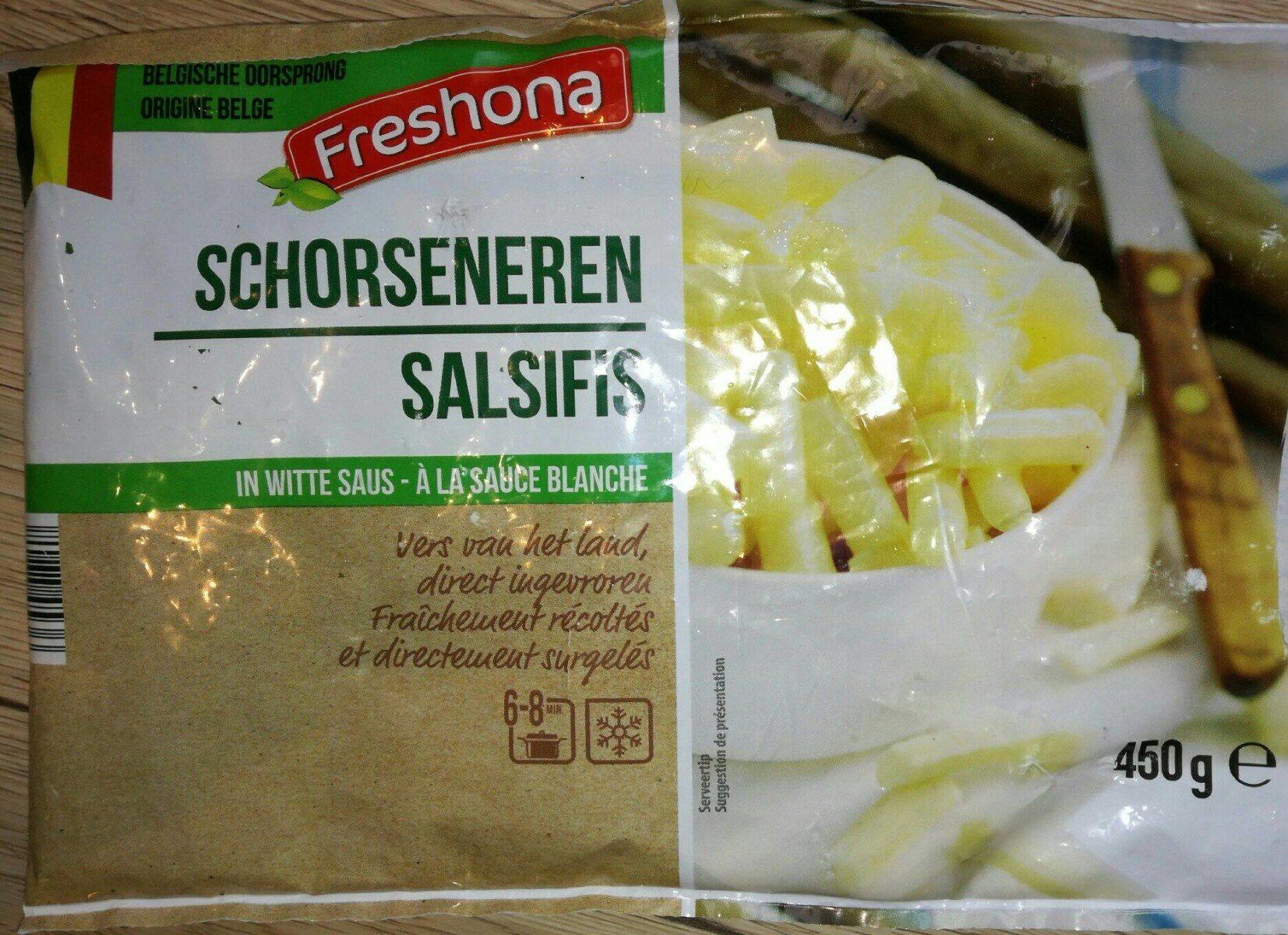 Salsifis à la sauce blanche - Produit