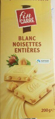 Blanc noisette entières - Produit - fr
