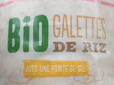 Bio galettes  de riz - Produkt - fr