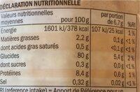 Bio Reiswaffeln mit Salz - Nutrition facts - en