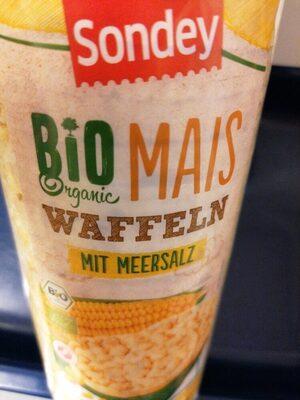 Bio Mais Waffeln mit Meersalz von Lidl - Prodotto - de