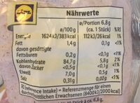 Bio Mais Waffeln mit Meersalz von Lidl - Valori nutrizionali - de