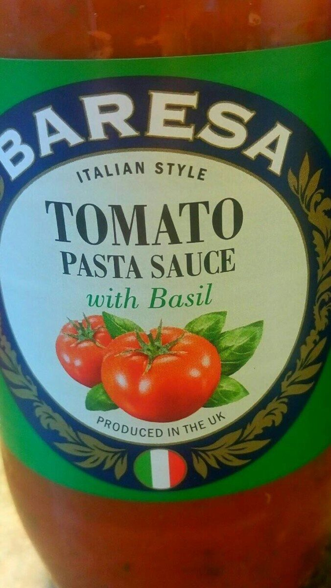 Tomato Pasta Sauce with Basil - Produit - en
