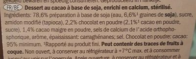 Soya pudding - Ingrediënten