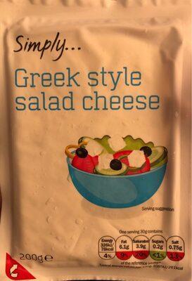 Greek style salad cheese - Product - en
