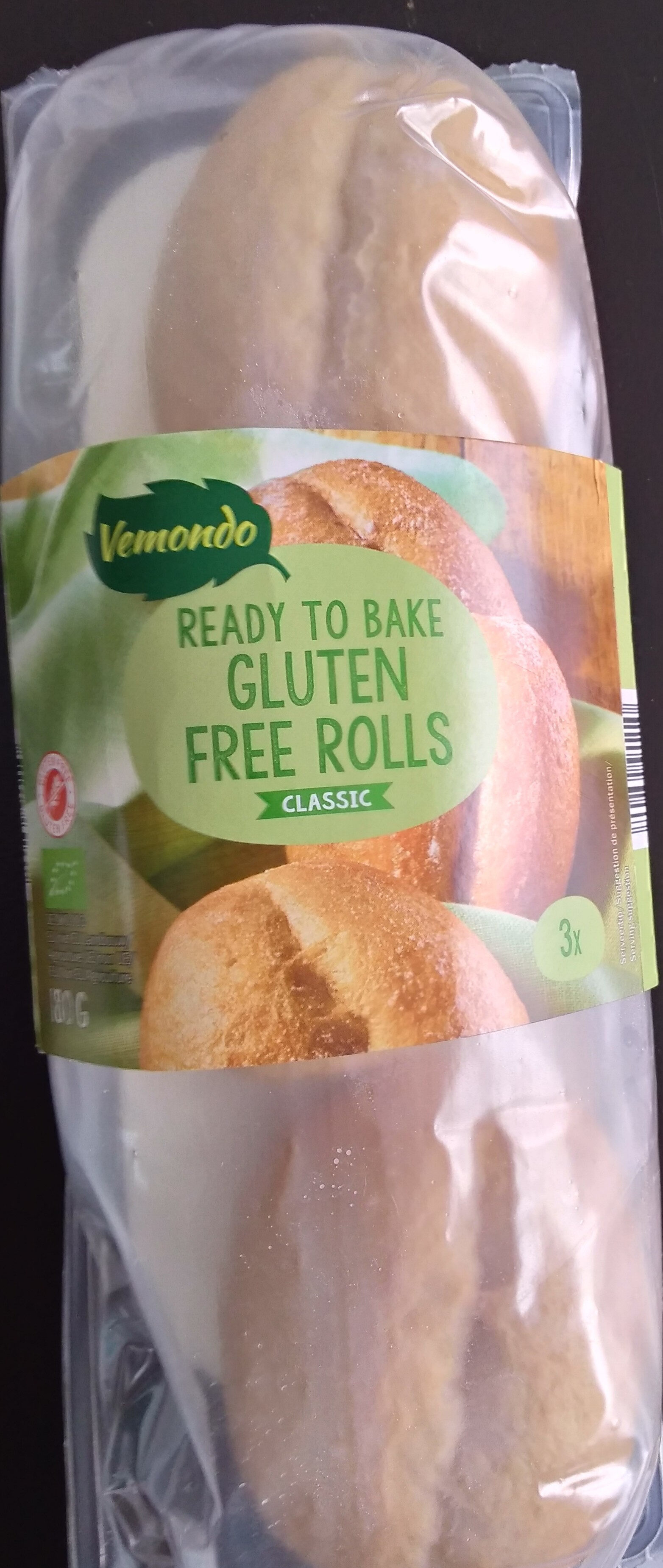 Glutenfree rolls classic - Product - fr