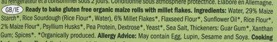 Glutenfree rolls classic - Ingredients - en