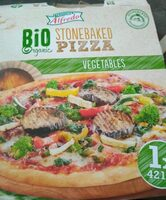 Pizza vegetables - Product - nl