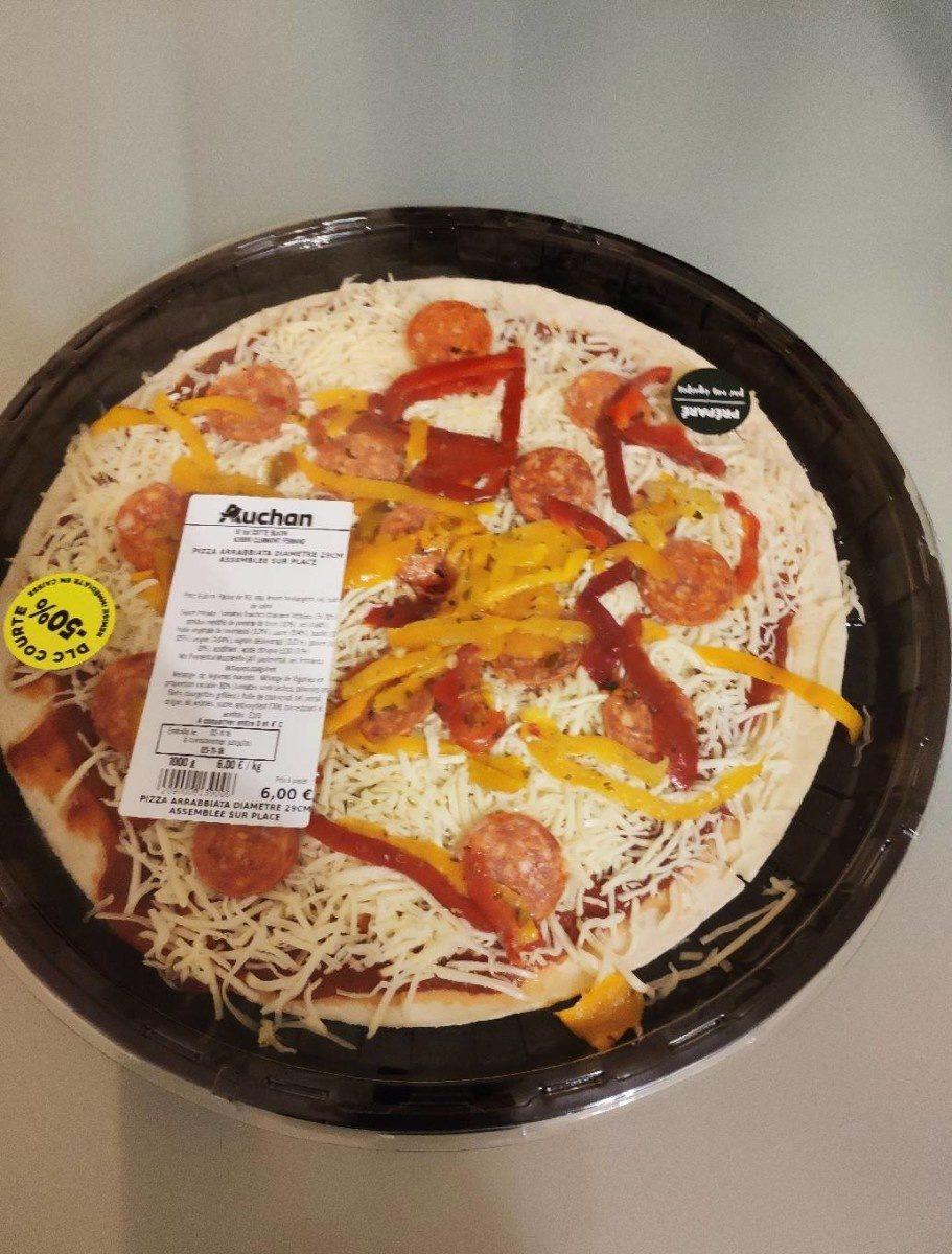 Pizza Arrabbiata diam. 29 cm - Produit
