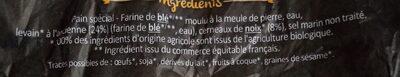 Pain aux noix bio - Ingrédients - fr