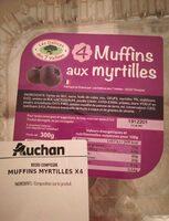 Muffins myrtilles - Produit - fr