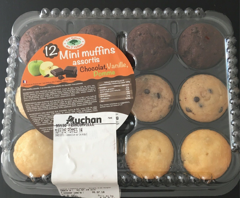 Mini muffins assortis - Produit - fr