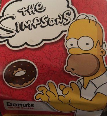 Donuts brown glazes - Produit