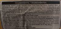 Donuts brown glazes - Ingrédients