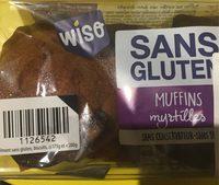 Muffins myrtille - Produit - fr