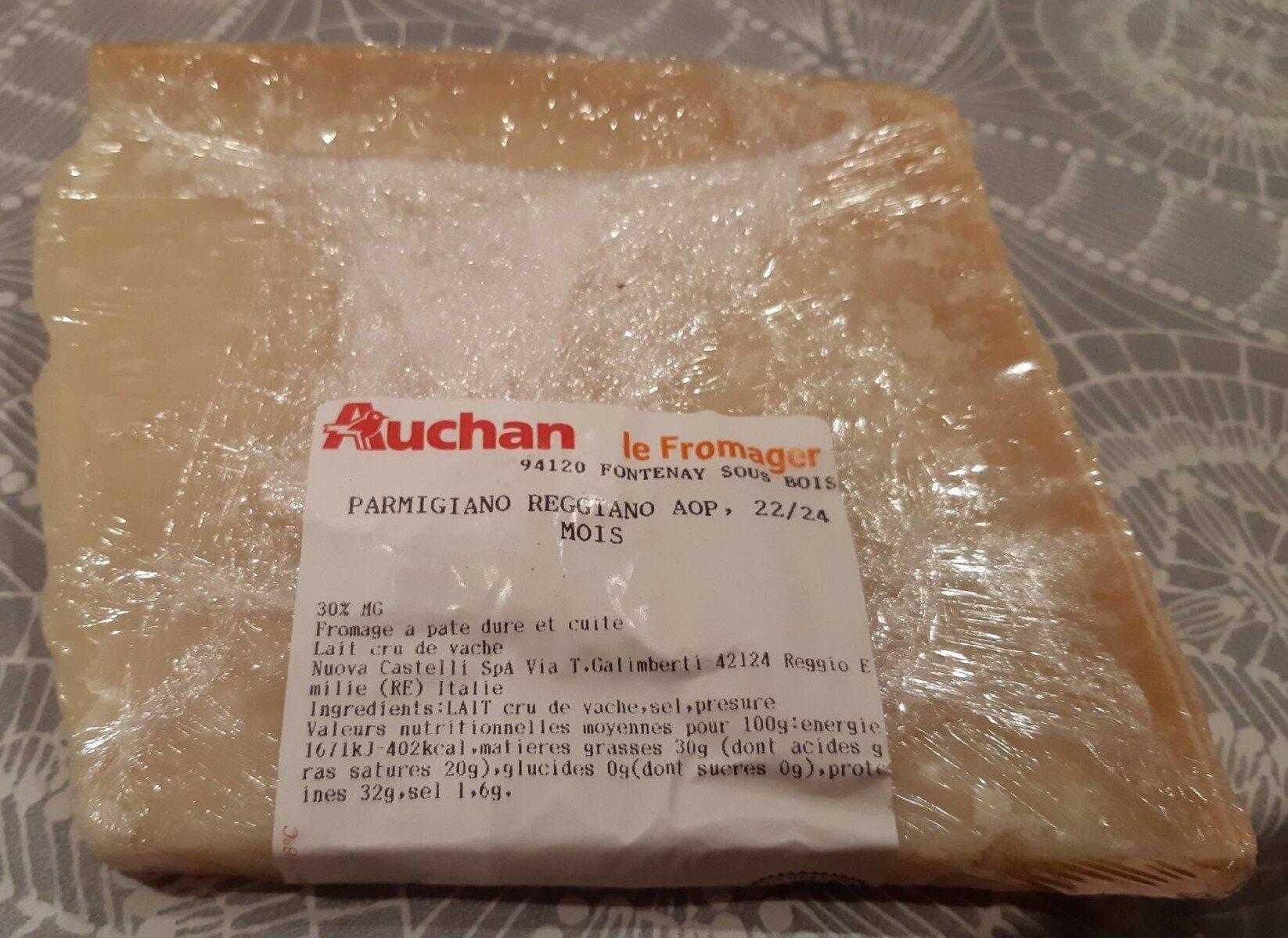 parmigiano reggiano aop - Prodotto - fr