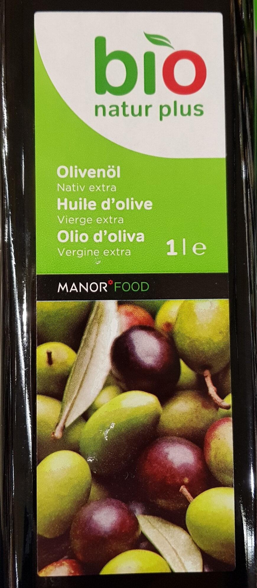 Huile olive bio natur plus - Product