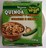 Quinoa calabacín y cebolla