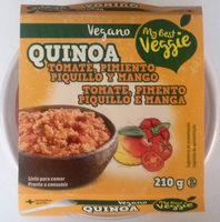 Quinoa con tomate, pimiento piquillo y mango - Producto