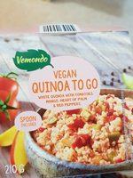 Quinoa con tomate, pimiento piquillo y mango - Produit