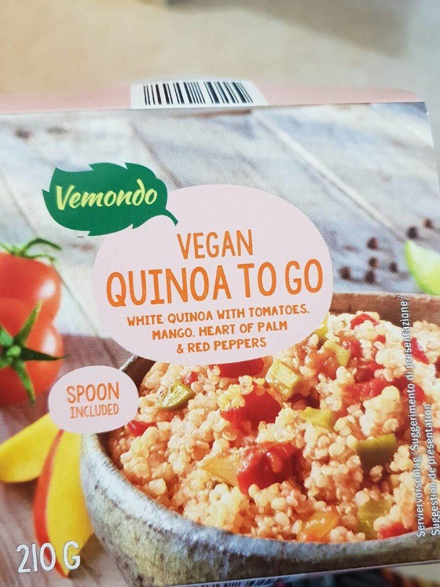 Quinoa con tomate, pimiento piquillo y mango - Produit - fr
