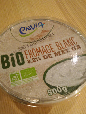 Fromage Blanc Bio - Product - fr