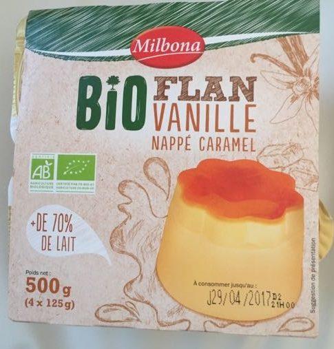 Flan Vanille Nappé Caramel - Produit - fr